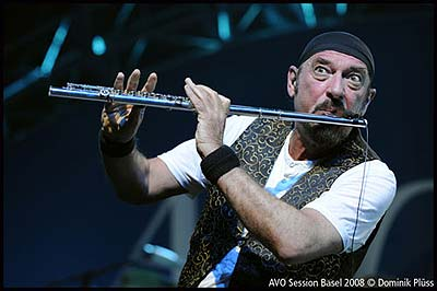 Minstrel in the Gallery: Ian Anderson. (Foto: Dominik Plüss)